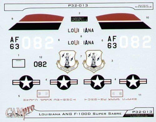 CAM PRO 1/32 North-American F-100D Super Sabre # 3213