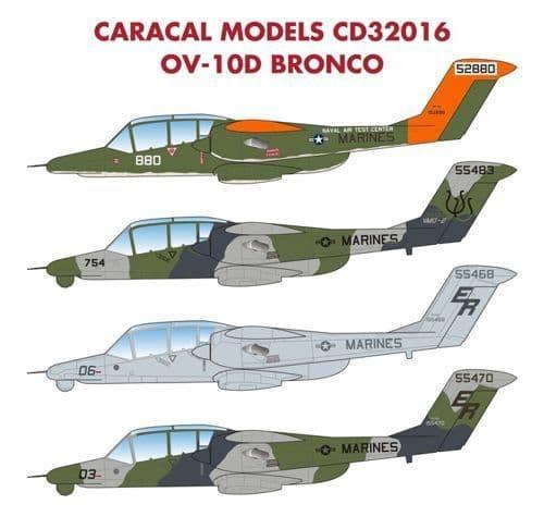 Caracal 1/32 North-American/Rockwell OV-10D Bronco # 32016