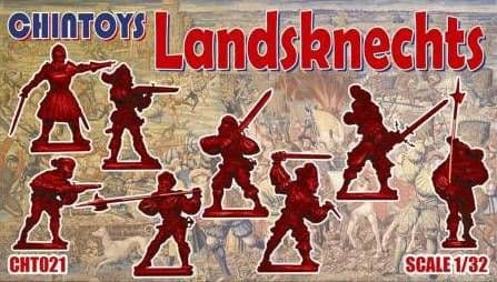 Chintoys 1/32 Landsknechts # 021