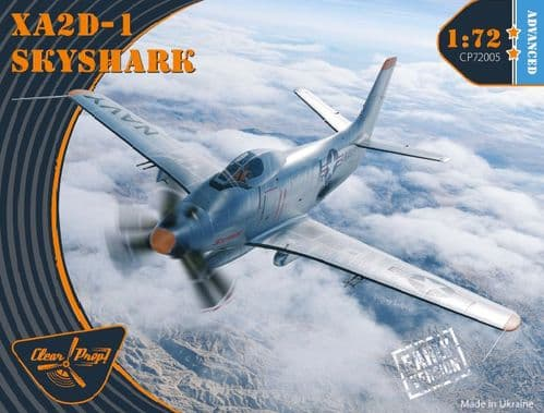 Clear Prop Models 1/72 Douglas XA2D-1 Skyshark Advanced # 72005