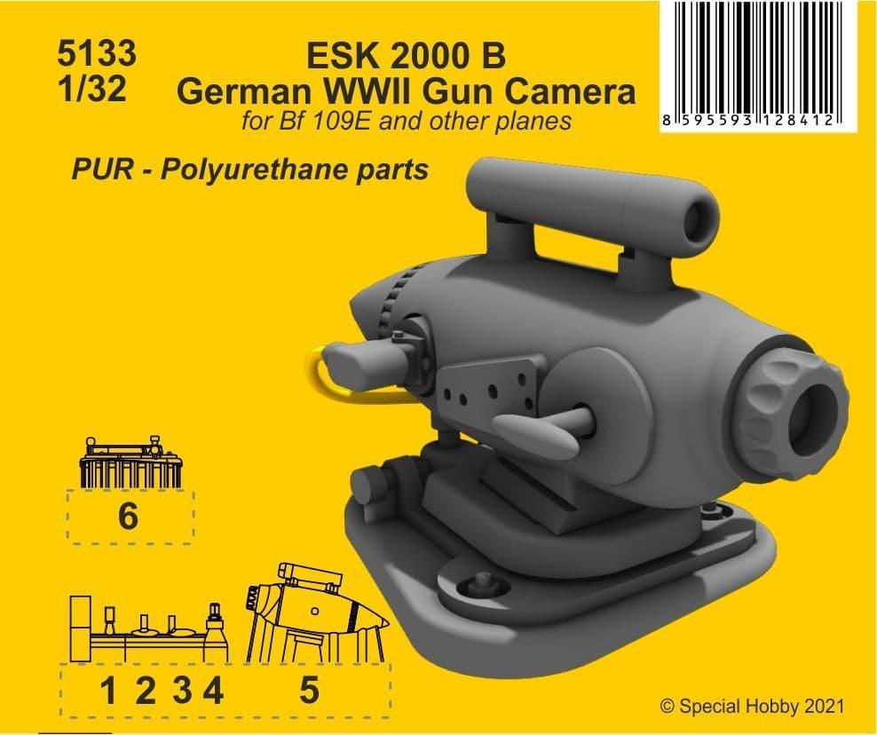 CMK 1/32 ESK 2000 B German WWII Gun Camera # 5133