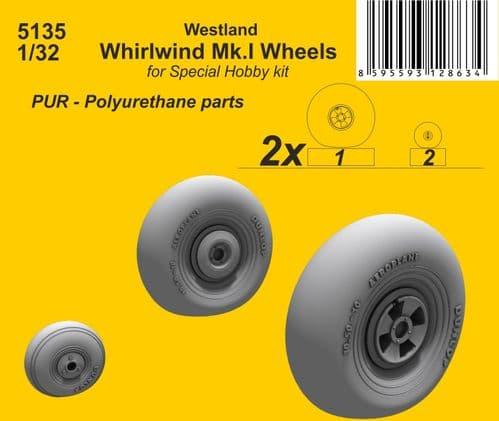 CMK 1/32 Westland Whirlwind Mk.I Wheels # 5135