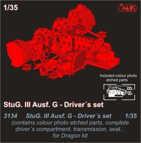 CMK 1/35 StuG. III Ausf. G Drivers set # 3134