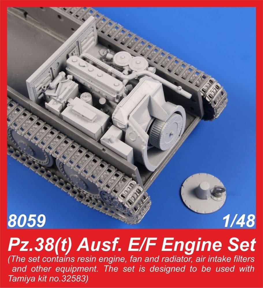 CMK 1/48 Jagdpanzer 38(t) 'Hetzer' Ausf.E/F Engine Set # 8059