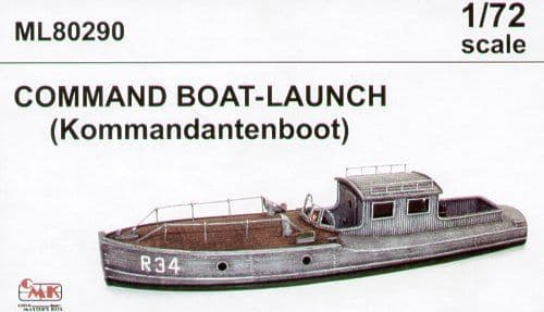 CMK Maritime Line 1/72 Command Boat-Launch (Kommandantenboot) # 80290