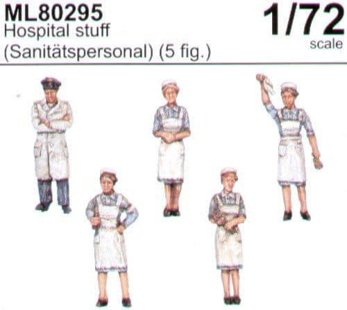 CMK Maritime Line 1/72 Hospital Staff (Sanitatspersonal) x 5 # M