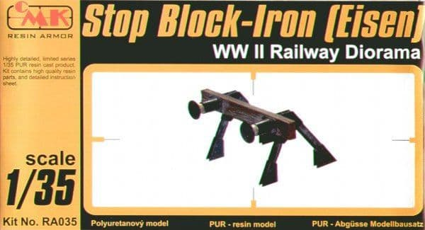 CMK Resin Armor 1/35 Stop-Block Iron (Iron Buffers) # RA035