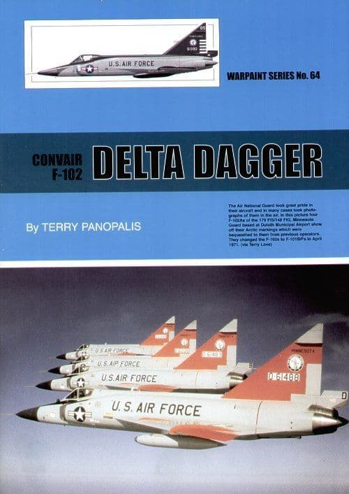 Convair F-102A Delta Dagger - By Terry Panopalis