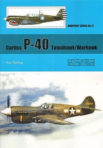 Curtiss P-40 Tomahawk/Warhawk - By Kev Darling