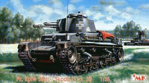 Czech Master 1/35 Pz.Kpfw. 35(t) / Skoda LT vz. 35 # T35006