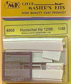 Czech Master 1/48 Henschel Hs 129B Exterior Set # 4068