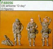 Czech Master 1/48 US Airborne D Day x 3 # F48056