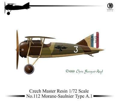 Czech Master Resin 1/72 Morane-Saulnier Type A.1 # 72-112