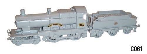 Dapol 1/76 4-4-0 City of Truro Locomotive model kit # C61