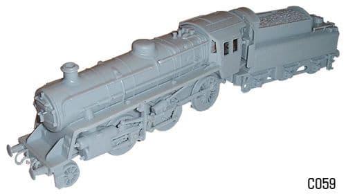 Dapol 1/76 BR Standard Class 4 Mogul # C59
