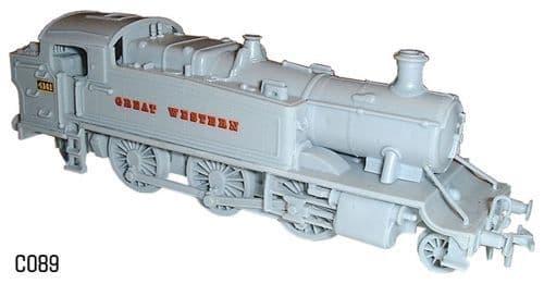 Dapol 1/76 GWR Prairie Tank 6100 Class # C89