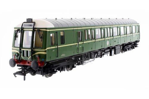 Dapol OO Gauge Class 122 Bubble Car 55018 BR Green Speed Whiskers # 4D-015-008D