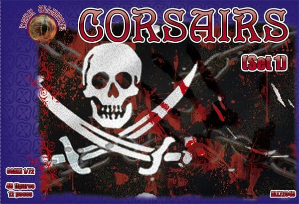 Dark Alliance 1/72 Corsairs (Set 1) # ALL72043