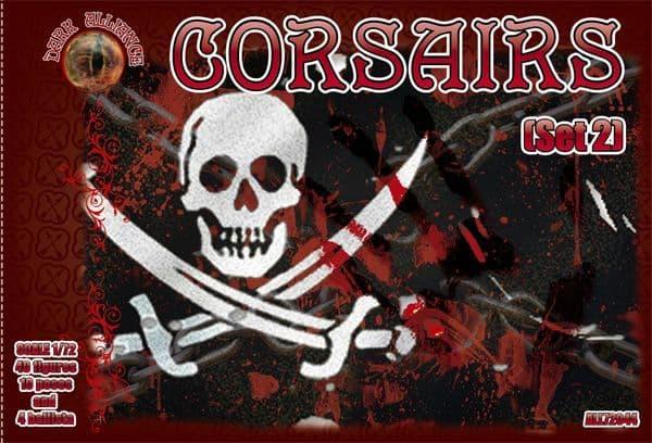 Dark Alliance 1/72 Corsairs (Set 2) # ALL72044
