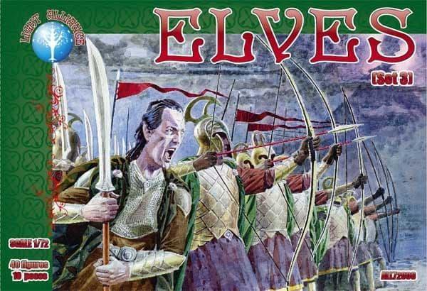 Dark Alliance 1/72 Elves (Set 3) # ALL72006