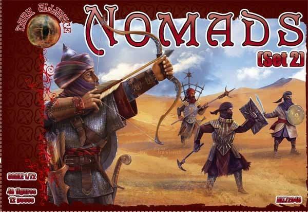 Dark Alliance 1/72 Nomads (Set 2) # ALL72049