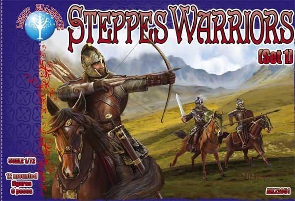Dark Alliance 1/72 Steppes Warriors (Set 1) # ALL72051
