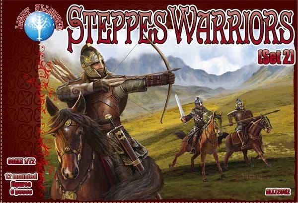 Dark Alliance 1/72 Steppes Warriors (Set 2) # ALL72052