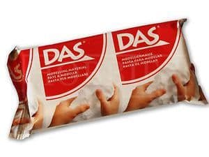 DAS - 150g Modelling Clay White # 43509