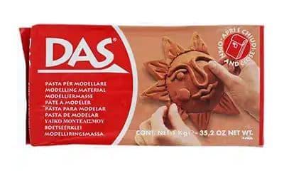 DAS 1kg Modelling Clay Terracotta