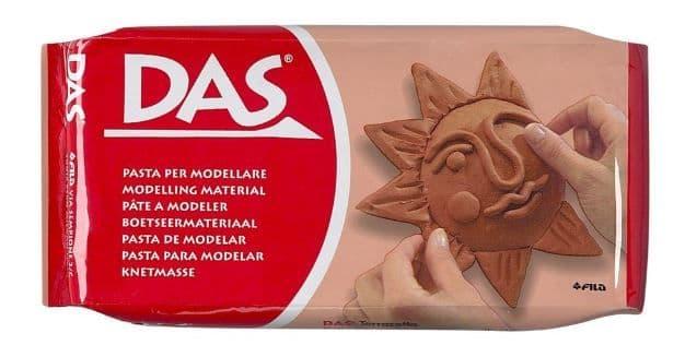 DAS 500g Modelling Clay Terracotta