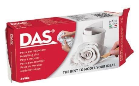 DAS - 500g Modelling Clay White # 43510