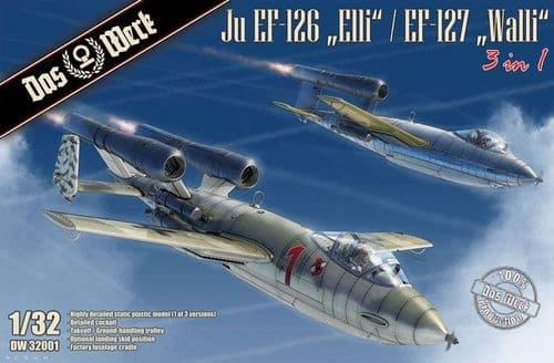 Das Werk 1/32 Junkers Ju EF-126