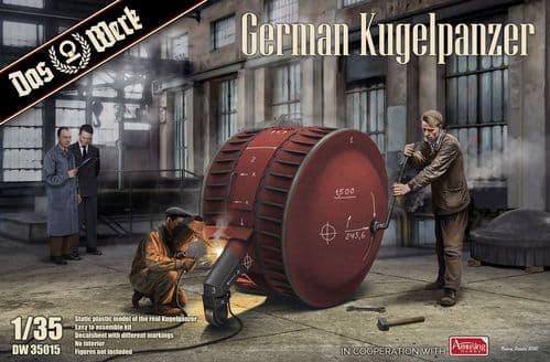 Das Werk 1/35 German Kugelpanzer # DW35015