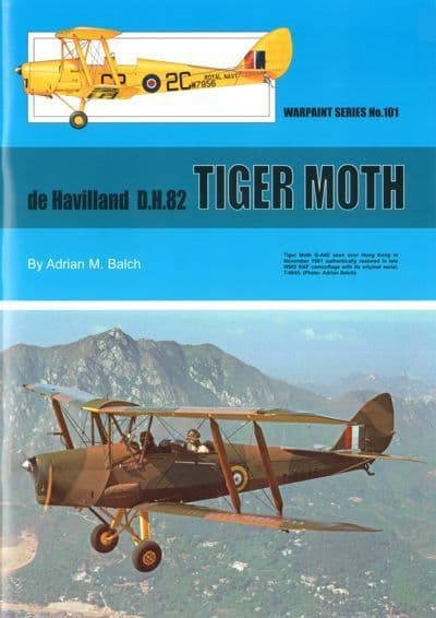 de Havilland DH.82A Tiger Moth - by Adrian M. Balch