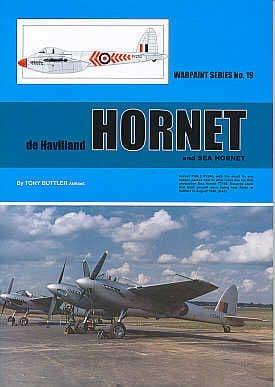 de Havilland Hornet and Sea Hornet - By Tony Buttler AMRAeS