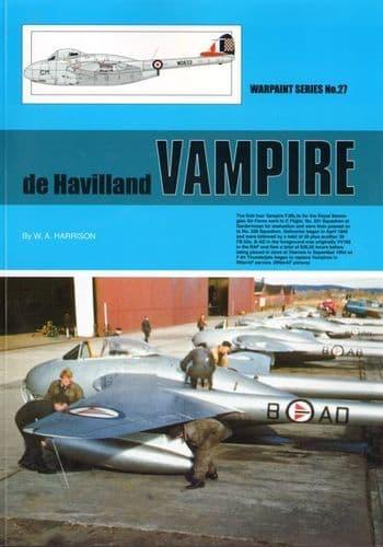 de Havilland Vampire - By W. A. Harrison