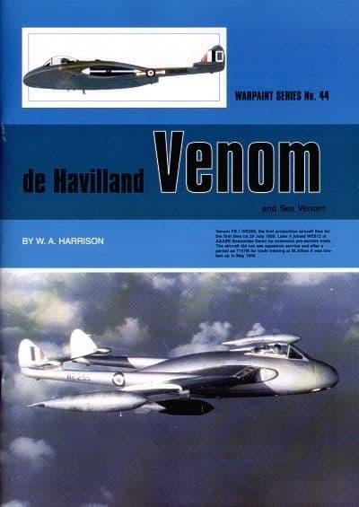 de Havilland Venom and Sea Venom - By W. A. Harrison