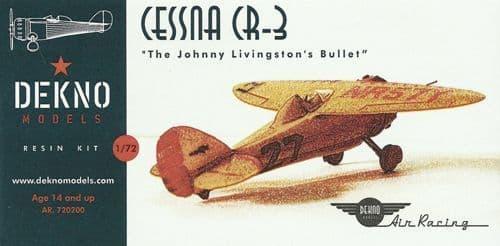 "Dekno 1/72 Cessna CR-3 ""The Johnny Livingston's Bullet"" # AR720200"