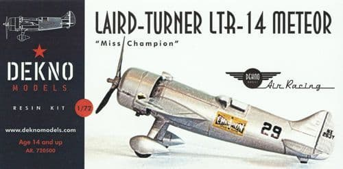 Dekno 1/72 Laird-Turner LTR-14 Meteor 'Miss Champion' # AR720500