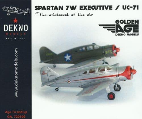 Dekno 1/72 Spartan 7W Executive/UC-71 # GA720100
