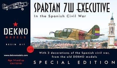 Dekno 1/72 Spartan 7W SCW # CW720100