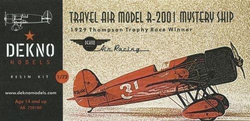 Dekno 1/72 Travel Air Mystery Ship # AR720100