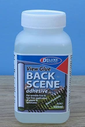 Deluxe Materials 225ml View Glue Backscene Adhesive # AD61