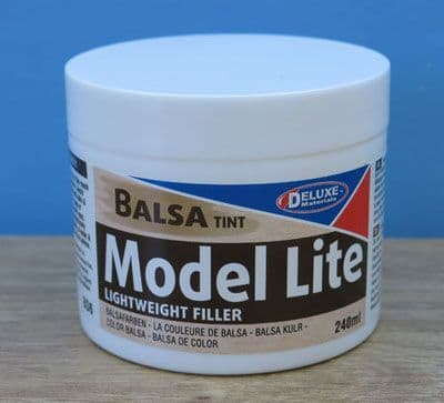 Deluxe Materials 240ml Model Lite Filler Balsa Tint # BD6