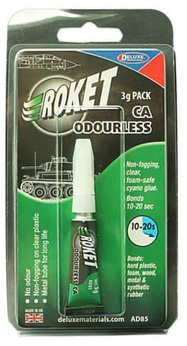 Deluxe Materials 3g Roket CA Odourless # AD85