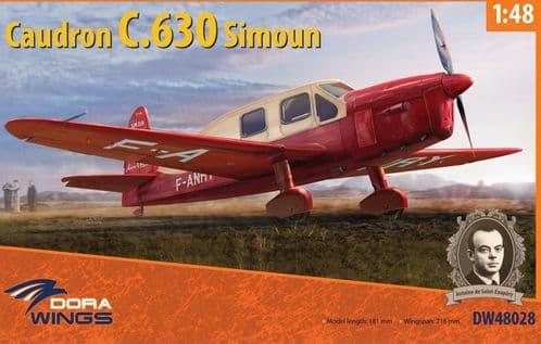 Dora Wings 1/48 Caudron C.630 Simoun # 48028