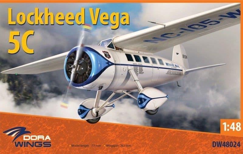 Dora Wings 1/48 Lockheed Vega 5C # 48024