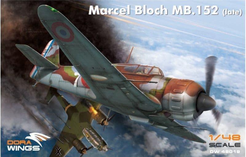 Dora Wings 1/48 Marcel-Bloch MB.152 (Late) # 48019