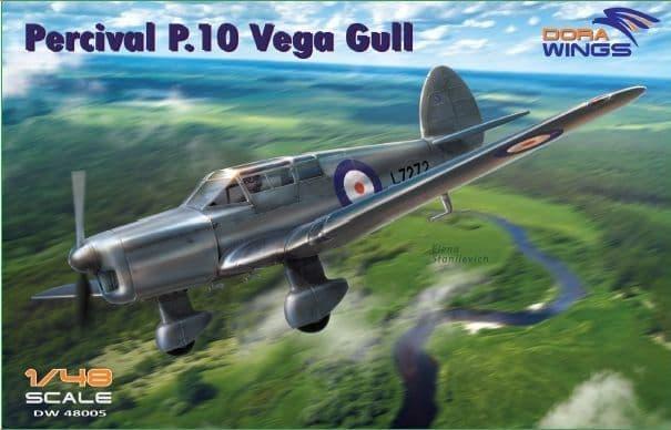 Dora Wings 1/48 Percival P.10 Vega Gull # 48005