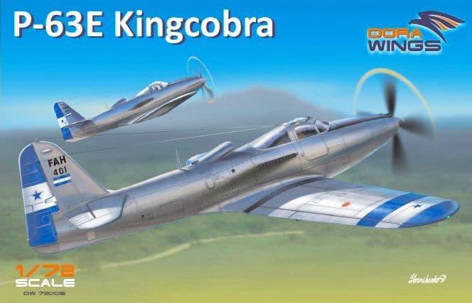 Dora Wings 1/72 Bell P-63E Kingcobra # 72005